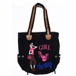 Black Hand Bag Fancy Bag