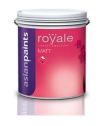 Asian Paints Royale Matt Interior Paint- Broken White
