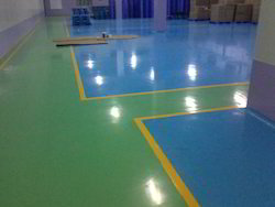 Solid Epoxy Flooring Coating Service