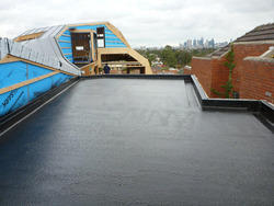 Roof Waterproofing, Acrylic Polymer, for Commercial