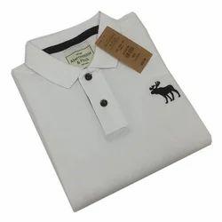 Plain Cotton Formal T-Shirts, Size: Medium