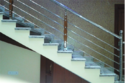 Wooden SS Stair Railing