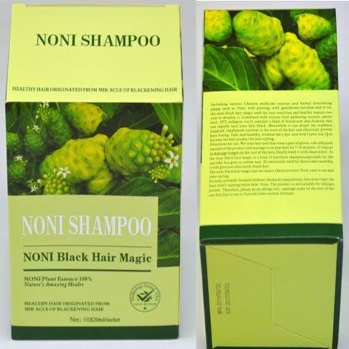 Ayurvedic Repair & Rescue Noni Black Hair Magic Shampoo, Packaging Type: Box, Packaging