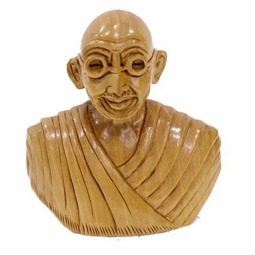 Mahatma Gandhi Head Wc077