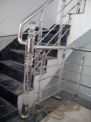 Stainless Steel Acrylic Balustrade Railing At Rs 900 Feet