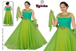 Dresses & Gowns Half Sleeve Raksha Girls Wear, 13 - 15 Years