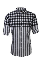 Men Double Striped Shirt