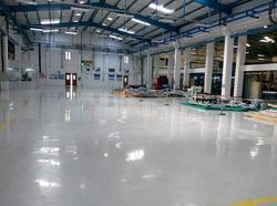 Factory Epoxy Flooring Service, Shelf Life: 1 - 5 Years