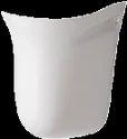 Ceramic Plain Cera Clea 1102 Half Pedestal Wash Basins
