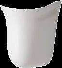 CERA Clea 1102 Half Pedestal Wash Basins