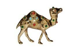 Brass Camel Statues