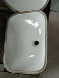 White Ceramic Wash Basin