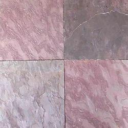 Pink Gray Slate Stone Tiles