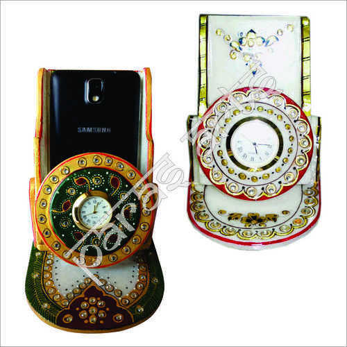 Marble Big and Small Hand Painted Mobile Holders