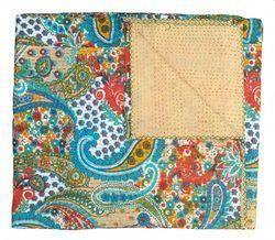 Handmade Kantha Quilt