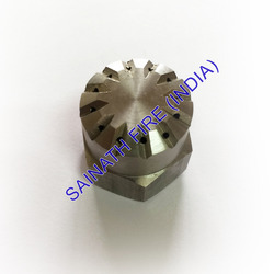 Steel Female Flat Spray Nozzle
