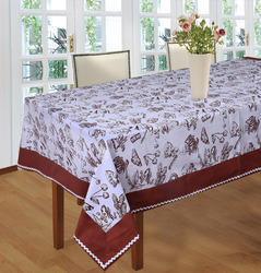 Attached Border With Lace Table Cloth