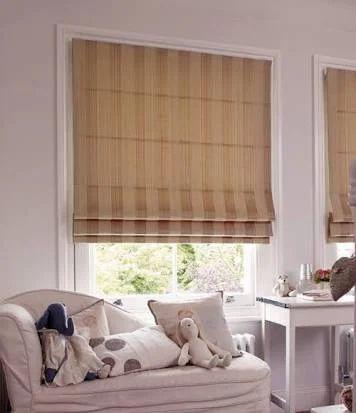 Fabric Roman Blinds रोमन ब्लाइंड Kaypee Associates