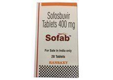 Sofosbuvir 400 mg Sofab Tablets Price & Details