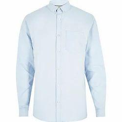 KNR 40 Sky Blue Formal Shirts