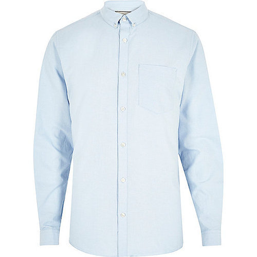 KNR 40 Sky Blue Formal Shirts