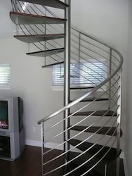 Stainless Steel Spiral Hand Railing