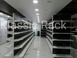Approx 2400 mm Stainless Steel Double Sided Racks, 6 Shelves