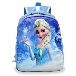 Polyester Printed Waterproof School Bag