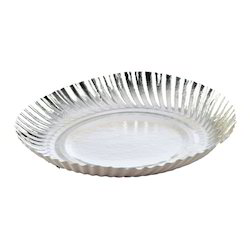 Silver Plain Printed Disposable Paper Plate Rs 7 /pack | ID 4412642962  sc 1 st  IndiaMART & Silver Plain Printed Disposable Paper Plate Rs 7 /pack | ID ...