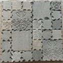 Natural Stone Cnc Carving Mosaic Tiles, Thickness: 15-20 Mm