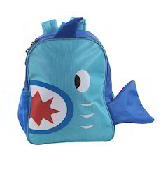 Blue Fish Small School Bag