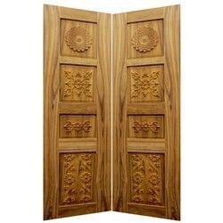 Teak Wood Double Door Pure Teak Wooden Double Door Latest Price