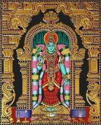 Wooden Tanjore Paintings, For Decor, Size: Vary
