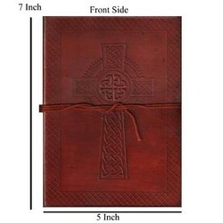 Genuine Leather Jesus Cross Diary DIRYL106