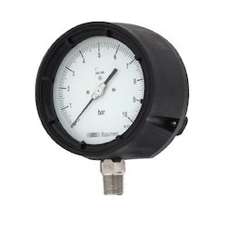 Baumer Steel Case Low Pressure Gauges