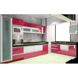 Semi Modular Kitchen Designing Services