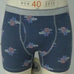 Boxer Brief Printed Men Cotton Underwear, Machine wash, Size: 95-100 cm