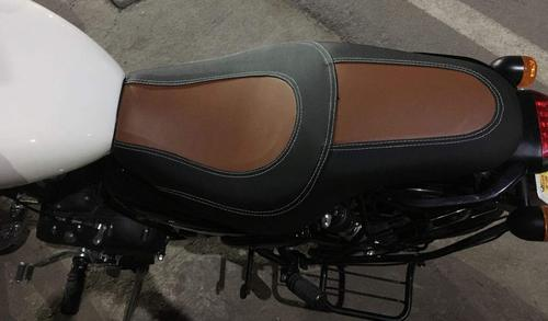 Tremendous Royal Enfield Thunderbird Seat Cover Tan 350 X Evergreenethics Interior Chair Design Evergreenethicsorg