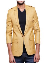 Mustard Color Blazer