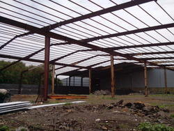 Prefabricated Industrial Roofing Structure