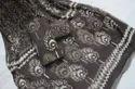 Hand Block Printed Cotton Salwar Suit with Chiffon Dupatta
