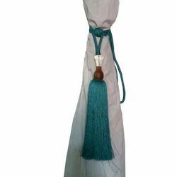 Blue Curtain Tie Backs