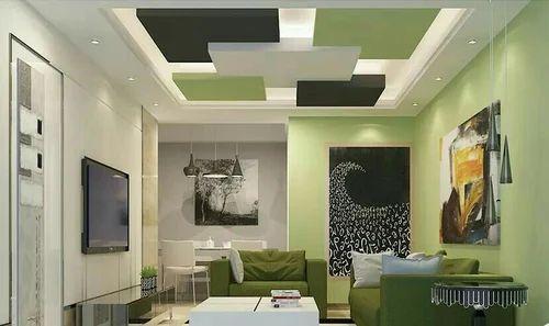 Pop False Ceiling Works Bedroom Ceiling Design House