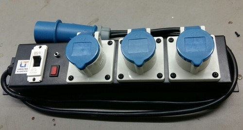 Power Distribution Boards - 3 Phase Power Distribution Board