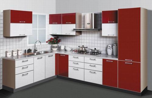 L Shaped Modular Kitchen Part 79