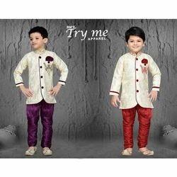 Cotton Boys Designer Sherwani