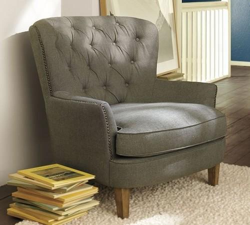 Modern Bedroom Chair, Bedroom Chairs - Excellence Decor, New Delhi ...