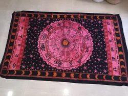 Zodiac Printed Cotton Tapestry