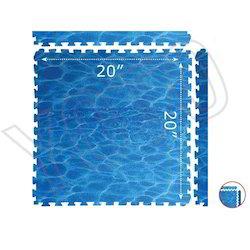 Water Floor Puzzle Mat