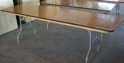 Plywood Rectangular Table